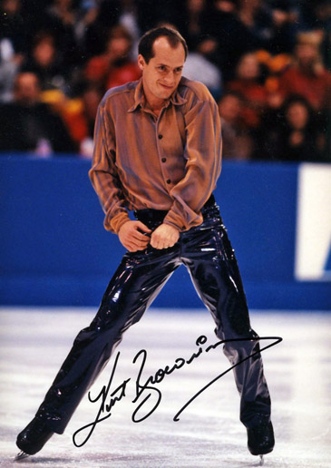 Hall of Famer KURT BROWNING