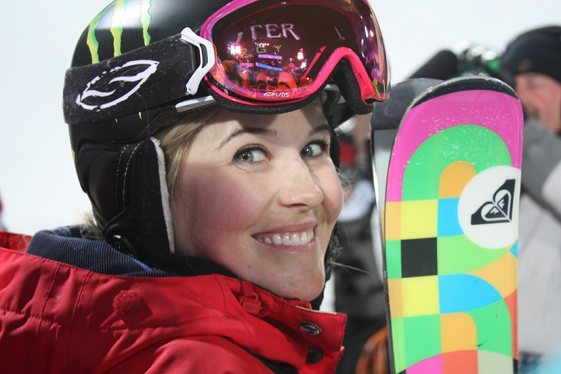 Hall of Famer SARAH BURKE