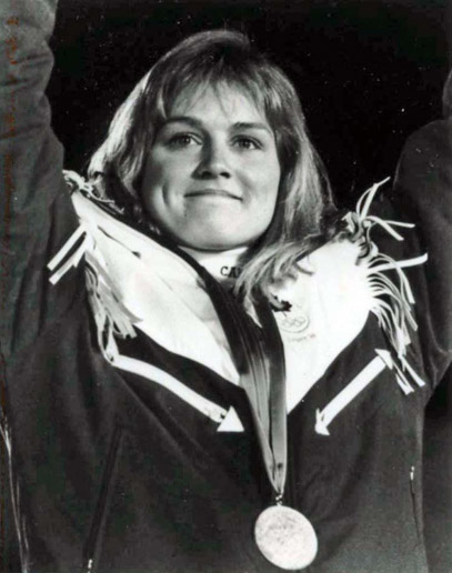 Hall of Famer KAREN PERCY