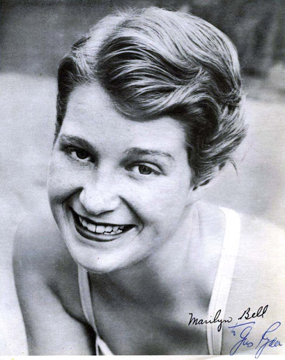 Hall of Famer MARILYN BELL