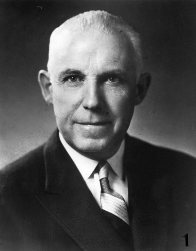 Hall of Famer CLARENCE CAMPBELL