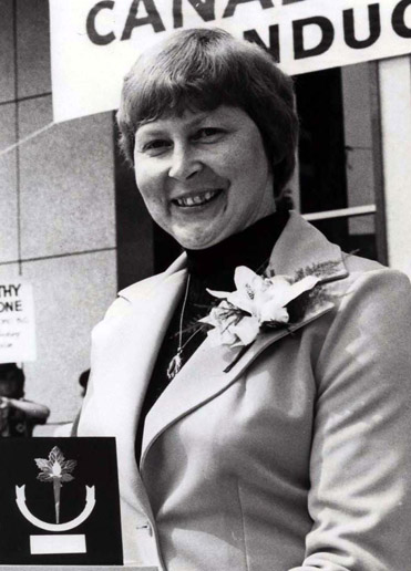 Hall of Famer DOROTHY LIDSTONE
