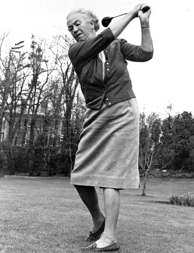 Hall of Famer ADA MACKENZIE