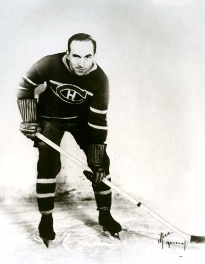 Hall of Famer HOWIE MORENZ