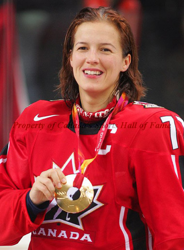 Hall of Famer CASSIE CAMPBELL