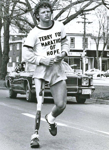Hall of Famer TERRY FOX